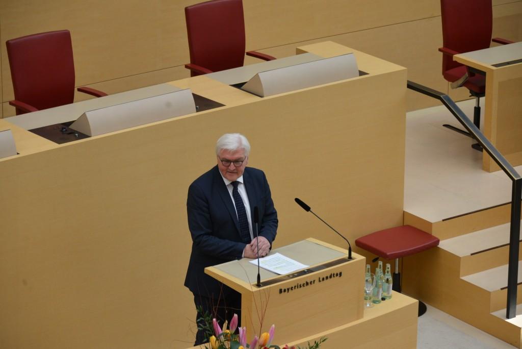 Steinmeier im Landtag (4)